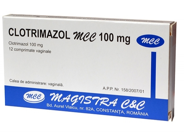 Clotrimazol MCC 100 mg